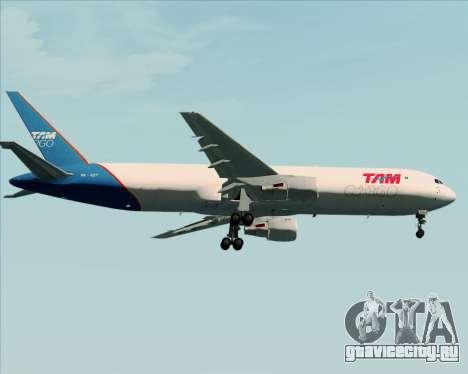 Boeing 767-300ER F TAM Cargo для GTA San Andreas вид сбоку