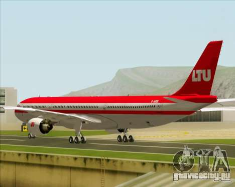 Airbus A330-300 LTU International для GTA San Andreas вид справа
