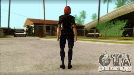 Mass Effect Anna Skin v9 для GTA San Andreas второй скриншот