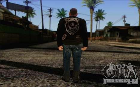 Johnny Klebitz From GTA 5 для GTA San Andreas второй скриншот