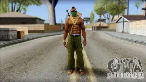 MR T Skin v11 для GTA San Andreas