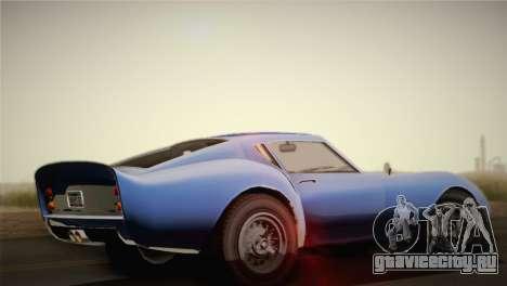 GTA 5 Stinger GT для GTA San Andreas вид слева