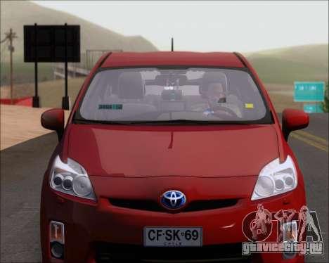 Toyota Prius для GTA San Andreas вид сбоку
