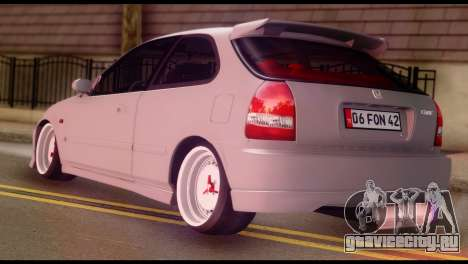 Honda Civic 1.4 Hatchback для GTA San Andreas вид слева