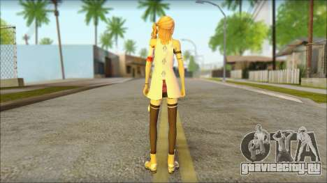 Sarah from Final Fantasy XIII для GTA San Andreas второй скриншот