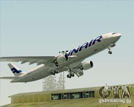 Airbus A330-300 Finnair (Current Livery) для GTA San Andreas