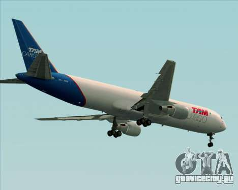 Boeing 767-300ER F TAM Cargo для GTA San Andreas колёса