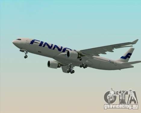 Airbus A330-300 Finnair (Current Livery) для GTA San Andreas двигатель