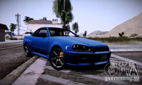 Graphic mod for Medium PC для GTA San Andreas
