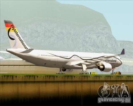 Airbus A330-300 Fly International для GTA San Andreas вид справа