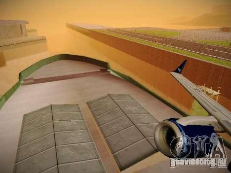Embraer E190 Azul Tudo Azul для GTA San Andreas вид снизу