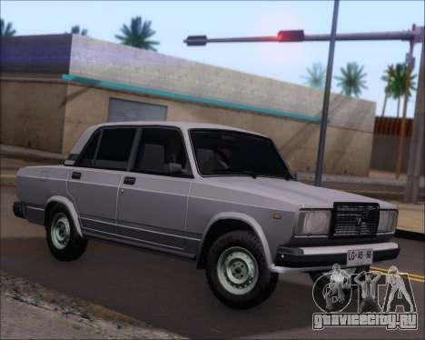 LADA 2107 для GTA San Andreas вид слева