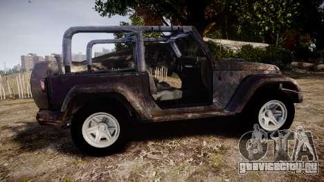 Jeep Wrangler Unlimited Rubicon для GTA 4 вид слева