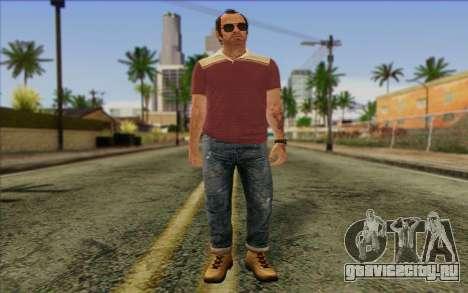 Trevor Phillips Skin v6 для GTA San Andreas