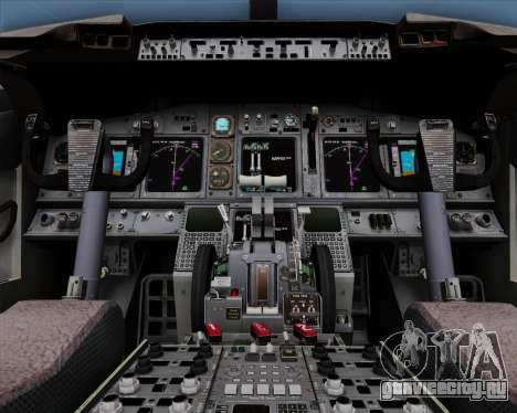 Boeing 737-86N Garuda Indonesia для GTA San Andreas вид сверху