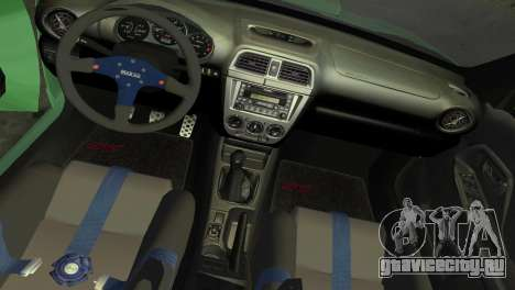 Subaru Impreza WRX 2002 Type 3 для GTA Vice City