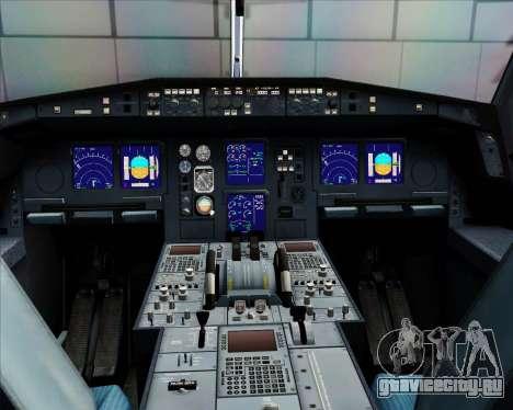 Airbus A340-312 Air Mauritius для GTA San Andreas салон