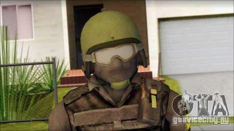 Australian Soldier для GTA San Andreas третий скриншот