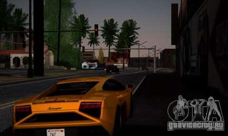 ENB Series by phpa v5 для GTA San Andreas третий скриншот
