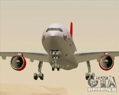 Airbus A330-300 Virgin Atlantic Airways для GTA San Andreas вид сверху