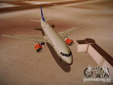 Airbus A319-132 Scandinavian Airlines для GTA San Andreas вид слева