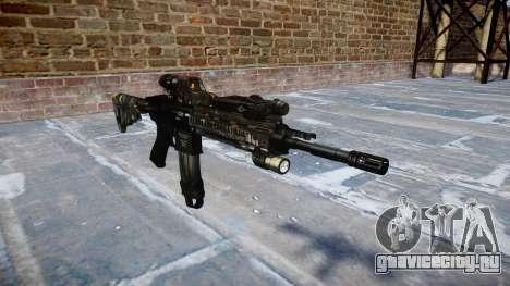 Автоматический карабин Colt M4A1 ce digital для GTA 4
