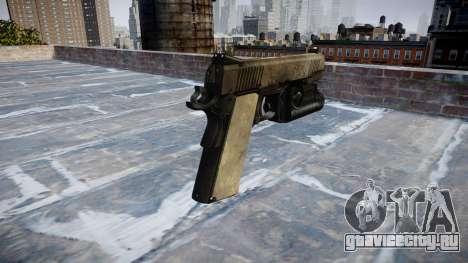 Пистолет Kimber 1911 A-TACS AU для GTA 4 второй скриншот