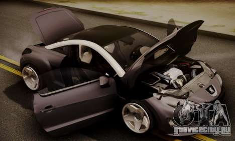 Peugeot RCZ для GTA San Andreas вид справа