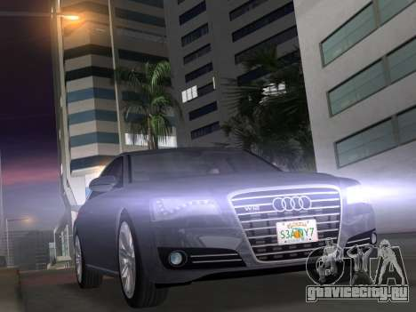 Audi A8 2010 W12 Rim1 для GTA Vice City
