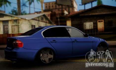 BMW M3 E90 Stance Works для GTA San Andreas вид слева