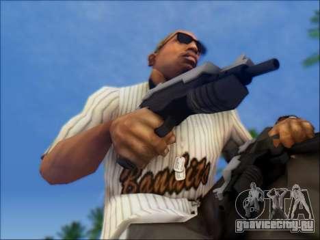Uzi для GTA San Andreas третий скриншот