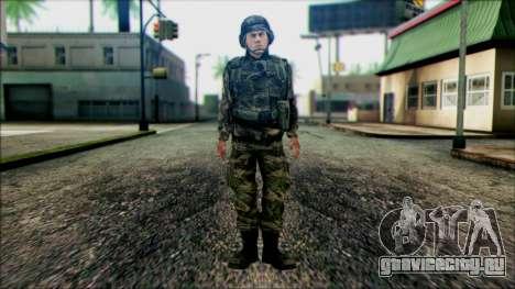 Солдат Национальной гвардии США (WIC) для GTA San Andreas