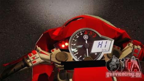 Yamaha New V-Ixion Lightning Concept Variasi для GTA San Andreas вид сзади слева