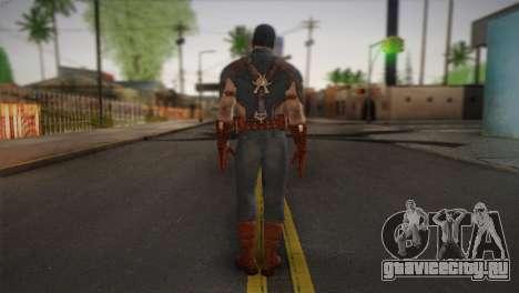Captain America v1 для GTA San Andreas второй скриншот
