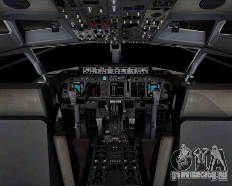 Boeing 737-89L Air China для GTA San Andreas салон