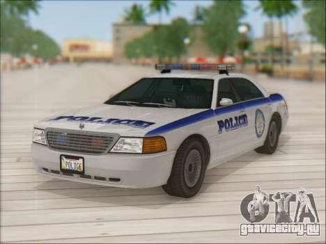 Admiral Police для GTA San Andreas двигатель