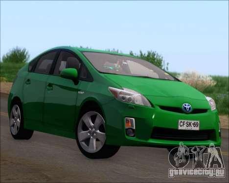 Toyota Prius для GTA San Andreas колёса