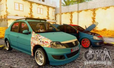 Dacia Logan 1.6 MPI Tuning для GTA San Andreas