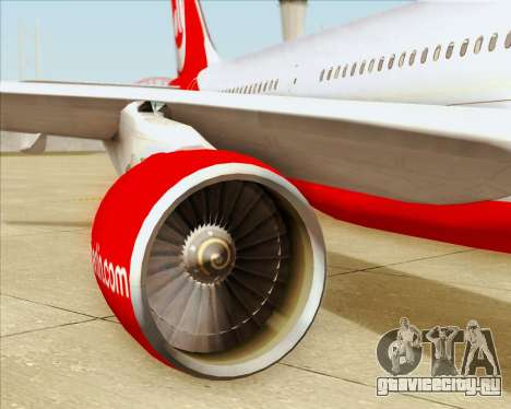 Airbus A330-300 Air Berlin для GTA San Andreas вид сверху