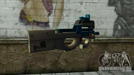 P90 from PointBlank v6 для GTA San Andreas второй скриншот