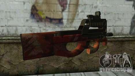 P90 from PointBlank v4 для GTA San Andreas второй скриншот