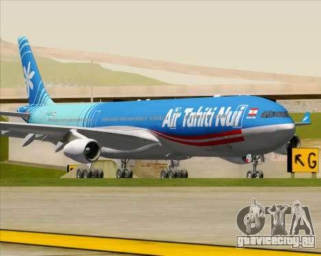 Airbus A340-313 Air Tahiti Nui для GTA San Andreas вид слева
