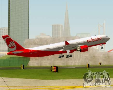 Airbus A330-300 Air Berlin для GTA San Andreas вид снизу