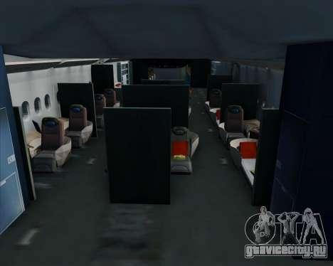 Airbus A380-800 All Nippon Airways (ANA) для GTA San Andreas двигатель