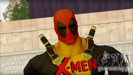 Xmen Deadpool The Game Cable для GTA San Andreas третий скриншот