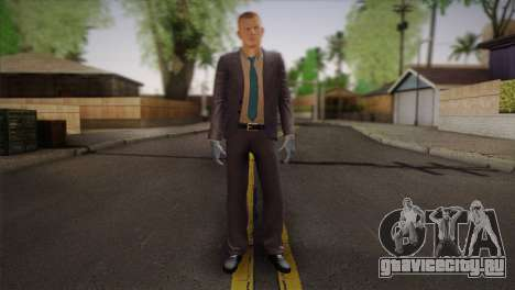 Hoxton From Pay Day 2 v2 для GTA San Andreas