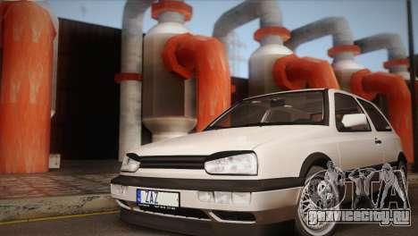Volkswagen Golf Mk3 GTI для GTA San Andreas