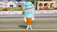 Blufish from Sponge Bob для GTA San Andreas