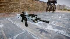 Автоматический карабин Colt M4A1 skulls