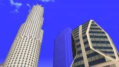 HD текстуры четырех небоcкребов в Лос Сантос